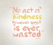Remember to be KIND!