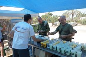 Panim el Panim operates Aroma station for soldiers in Gaza!