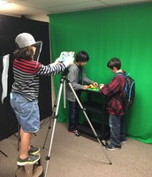 Green Screen Room in Action!