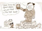 Mao political cartoon