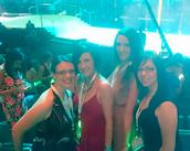 Teresa, Sam, Fena, & Monica!