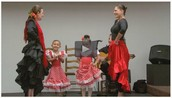 Flamenco Dance Studio Field Trip