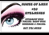 My Choezen Hands Spa Treatments presents House of Lash!