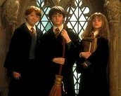 Harry Potter, Ron and Harmoine
