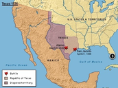 1836 Texas Independence Established-