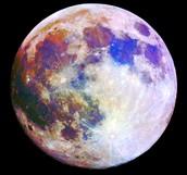 The moon Cinthia