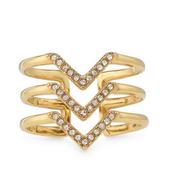 Pave Chevron Ring M/L