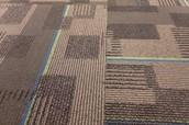 Carpet in Math Classroom.