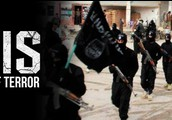 Isis with their flag