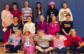 7th Grade Students Honor Mrs. Klunder