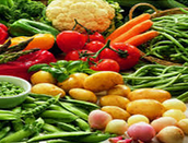 Debes comer muchas verduras.