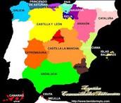 Organizacion territorial de España.