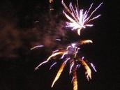 Fireworks Set Off After Midnight.