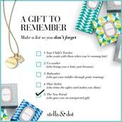Gift Checklist