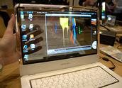 Lichtdoorlatende laptop display Samsung