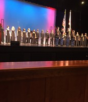 Lee High School's Color Guard and Choir honoring our Veterans.
