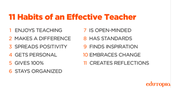 What are some things that set high flying teachers apart from those who are mediocre?