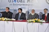 CGU President, Vice President visit Pakistan