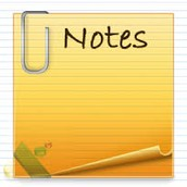 Newsletters or Notes