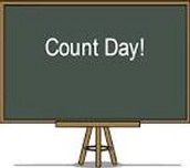 COUNT DAY, Wednesday, October 5th!!!