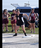 Hannah Smoyer sets new Shot and Discus record!