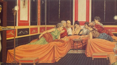 Triclinium (first i)