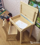Комлект стул и стол