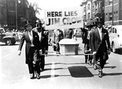 African Americans protest Jim Crow Laws