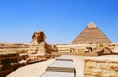 Egyptian Pyramids and the Great Sphinx of Egypt