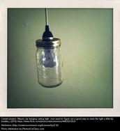 Mason Jar... Lamp?!