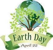 Earth Day, April 22