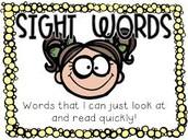 ~Sight Words~
