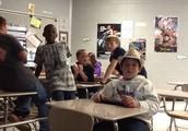 Mr. Gorcesky's class room