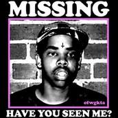 Earl missing