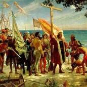Llegada de Cristobal a América