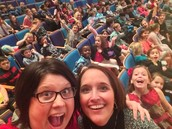 Ms. Donovan and Ms. Leonard take a selfie at the Symphony.