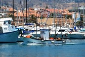 Commercial fishing boats, Costa del Sol