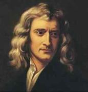 A portrait of Newton