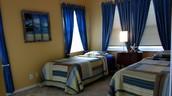 Bedroom AFTER Bella Casa Staging
