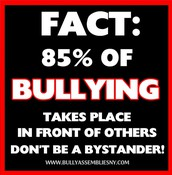 Don't be a bystander !