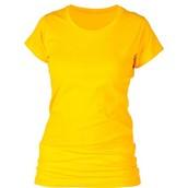 Camiseta ; Amarillo y rojo y azul y verde.