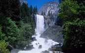 Yosemite is known for waterfalls