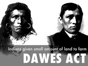 "How did the Dawes Act attempt to ""Americanize"" the Native Americans? part 2"
