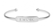 Signature Engraveable Bar Cuff