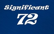 SIgnificant 72 Success Stories