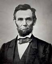 3rd person- Abraham LIncoln