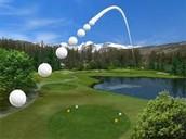 Golf ball.