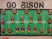 Ms.Tammy's Class Are Bison Fans!