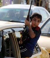 Children of Iran's forces