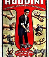A poster of Houdini